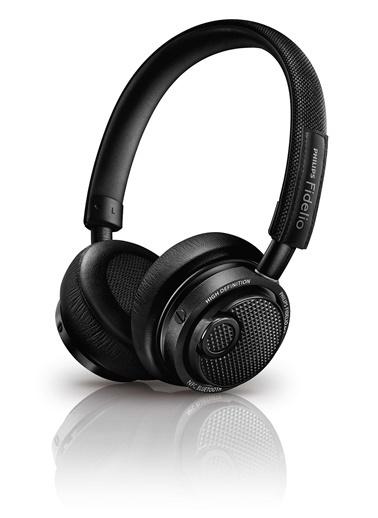Philips M2BTBK Fidelio Bluetooth Kulaküstü Kulaklık Siyah